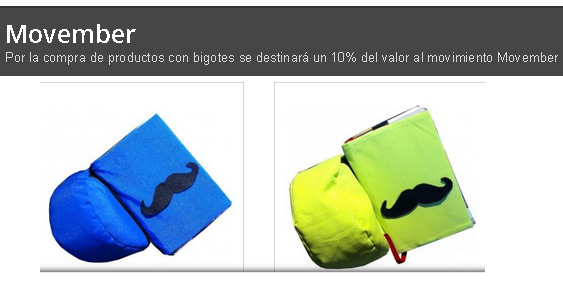 ALMOHADONES MOVEMBER